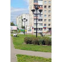 Объект в г. Новоалтайск, городская аллея, 2017 год