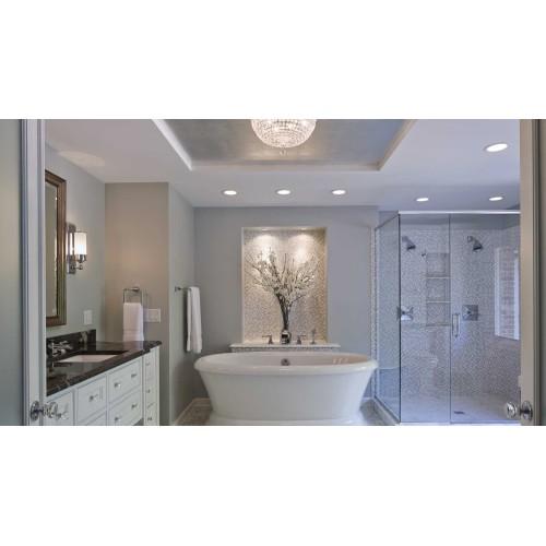 Светильники в ванной комнате: как безопасно расположить свет?