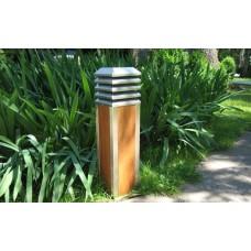 Светильник уличный из дерева TEAK HOUSE SMQS 2-15 (h 605 мм)