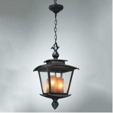 Подвесной Кованый уличный светильник Wax L55104.46