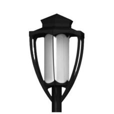 Светильник парковый Denaly (голова на опору)