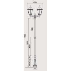 Уличный фонарь BREMEN 79830 Bl