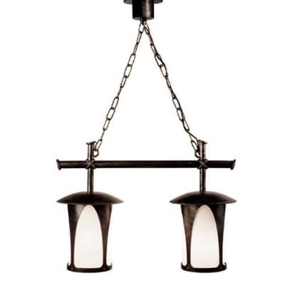 Подвесной Кованый светильник Borneo 160-02 (Русские фонари)
