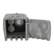 Блок розеток наземный Globo Pietra 1 37001-2Z